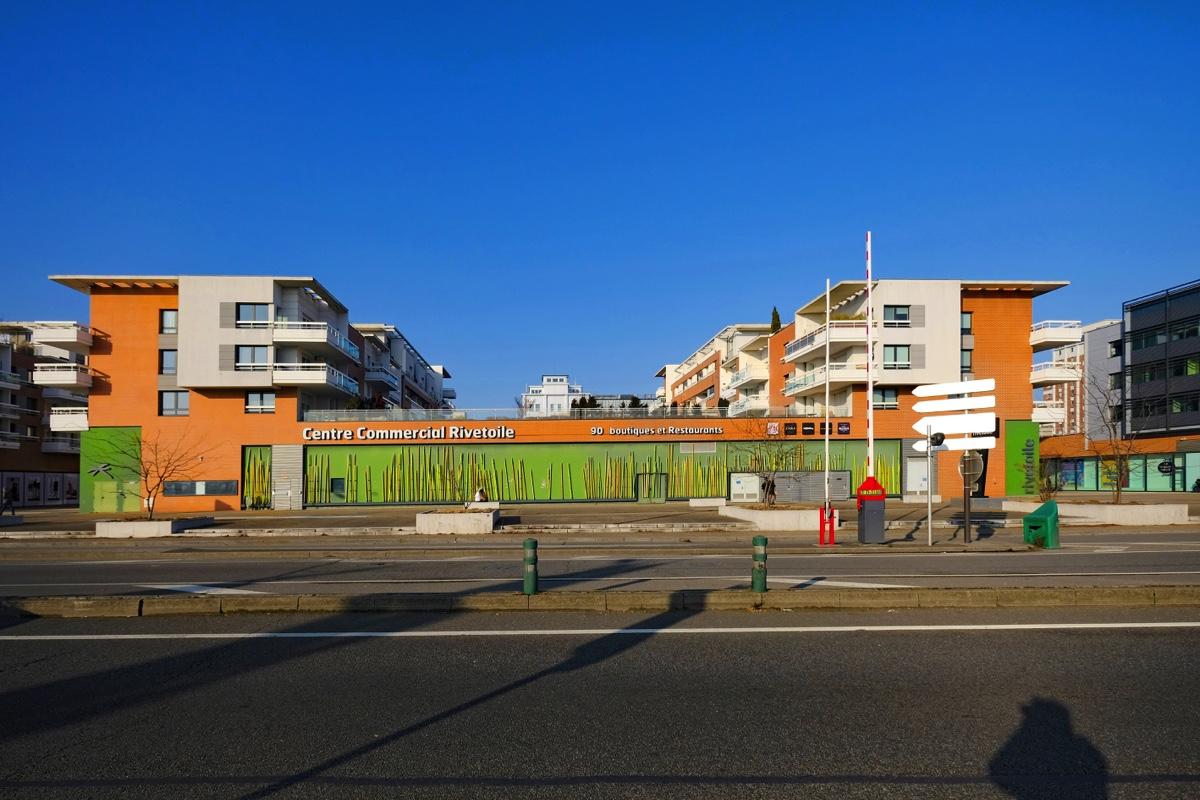 Fotos moderne architektur in stra burg ecoquartier - Centre commercial rivetoile strasbourg ...